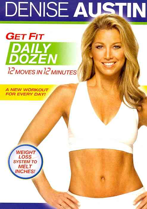 DENISE AUSTIN:GET FIT DAILY DOZEN BY AUSTIN,DENISE (DVD)